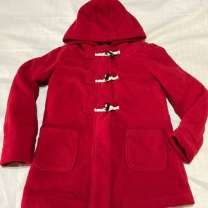 OLD NAVY, Girls Red Pea Coat, size XL